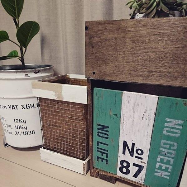 リサイクル材料でDIY2