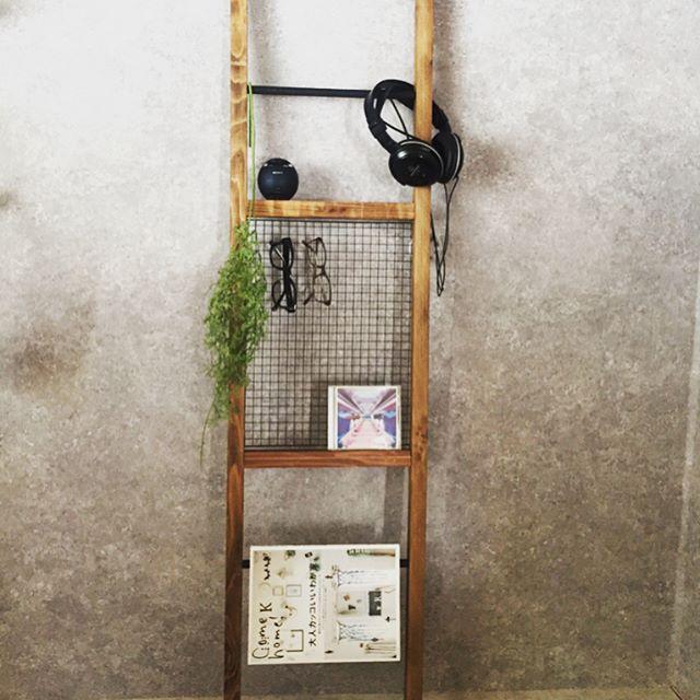 焼き網を収納棚に取り入れる