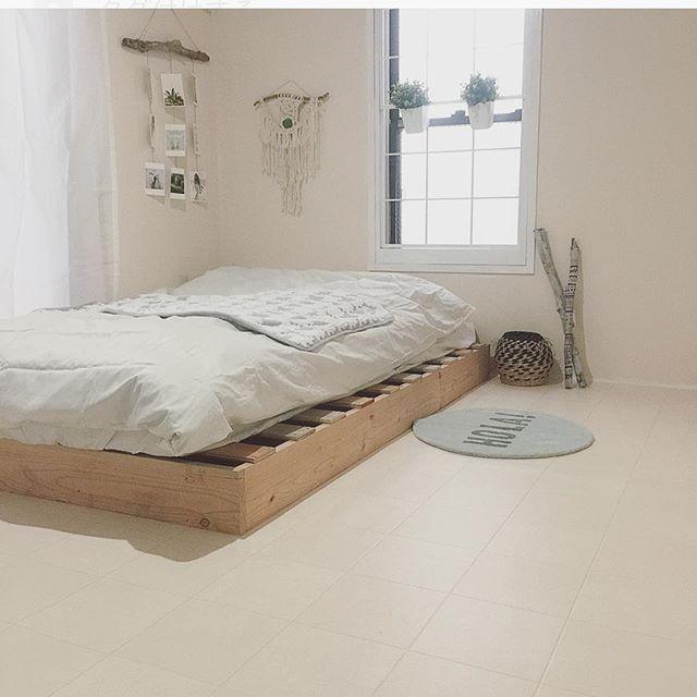 寝室 ボヘミアンスタイル