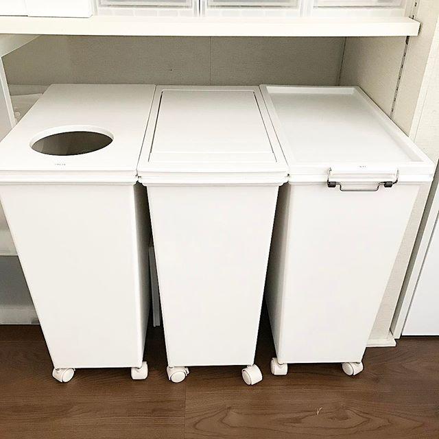 レジ袋収納 ゴミ箱3