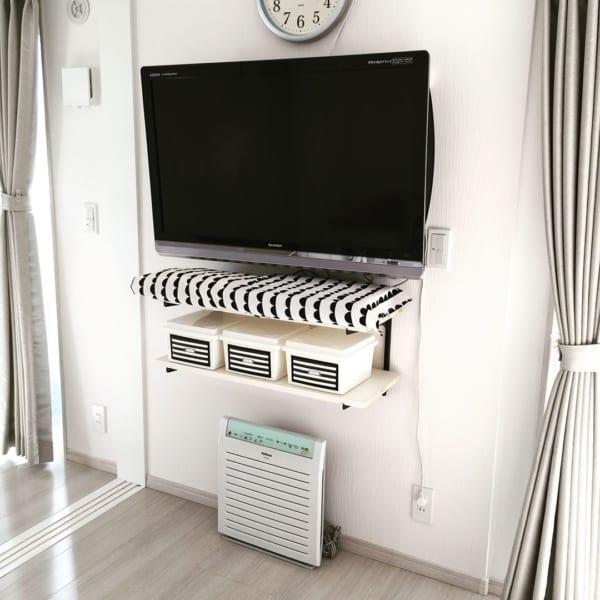 壁掛けテレビの配線を隠す方法5