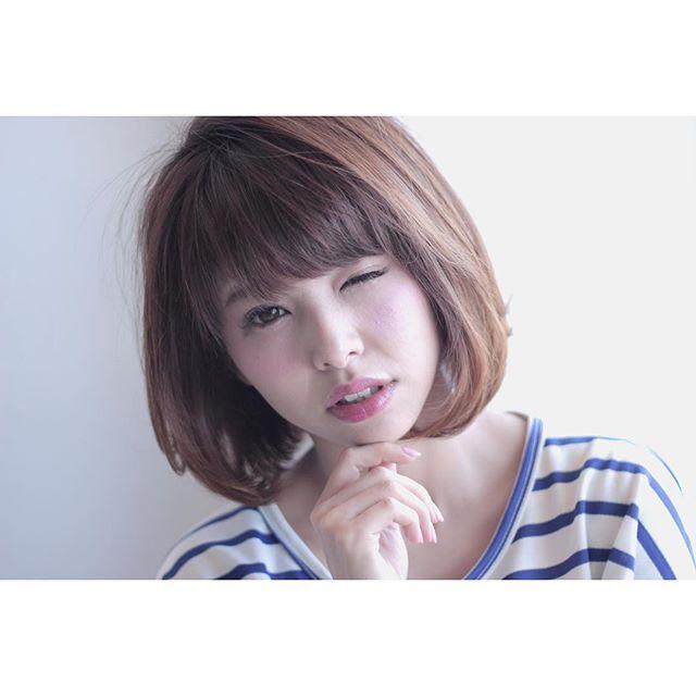 ぽっちゃりさんに似合う髪型①ショート5