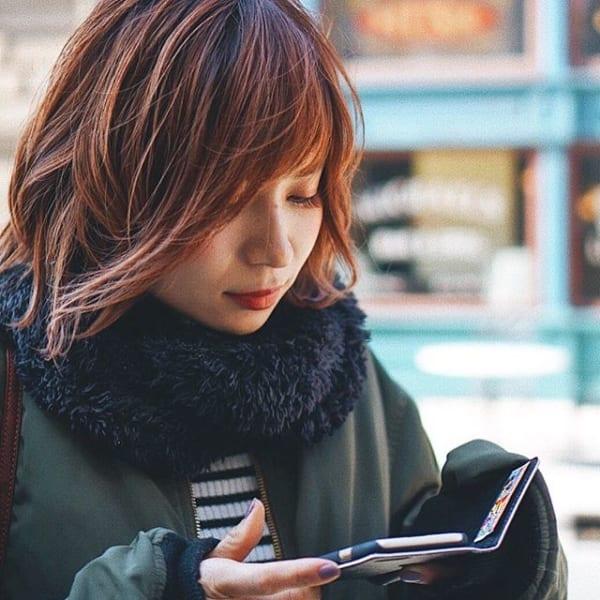 【2019】流行のピンク系ヘアカラー10