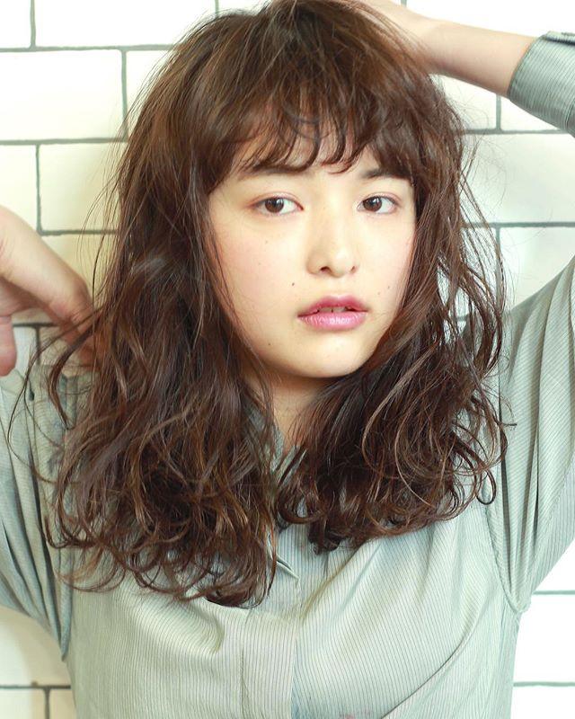 似合う髪型がわからない方におすすめのスタイル【丸顔編】6