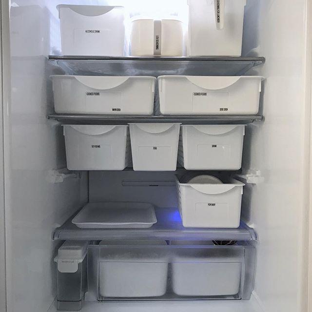 食材のサイズに合わせてケースを選ぶ