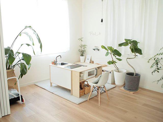 春インテリア キッズスペース IKEA ドゥクティグ