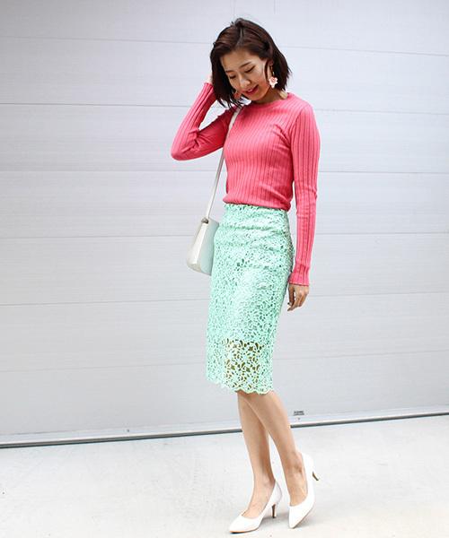 [MODE ROBE] コードレーススカート