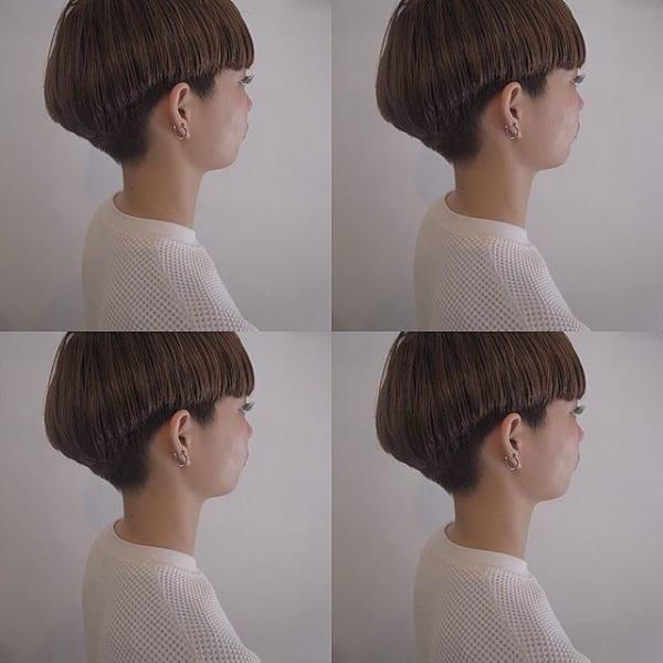 ジェンダーレス女子のヘアスタイル④ツーブロック2