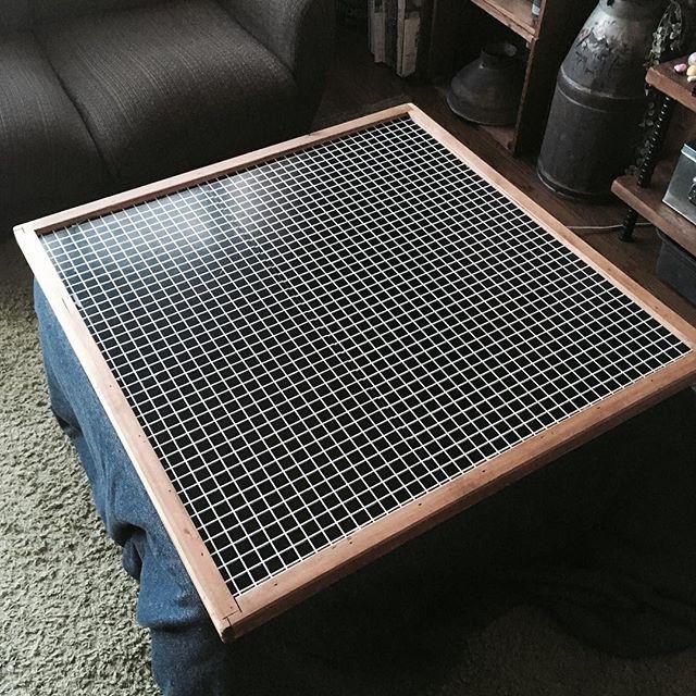 家具DIY こたつ天板