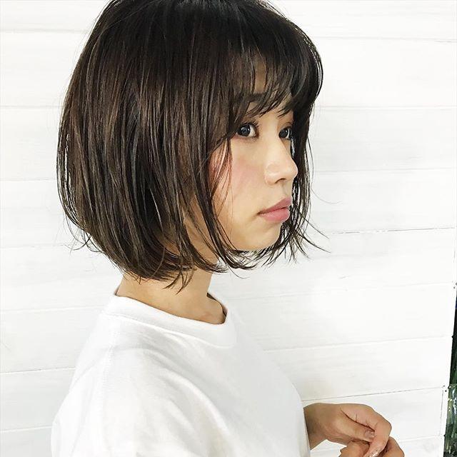 ぽっちゃりさんに似合う髪型①ショート8