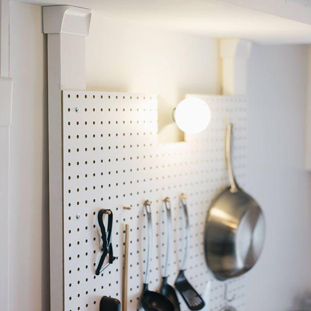 有孔ボードと組み合わせてワンランク上の機能美を叶える!