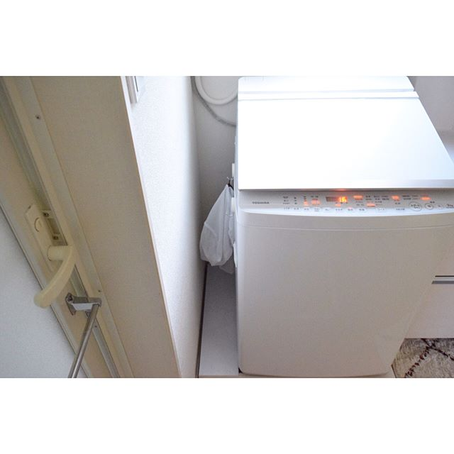 ランドリー収納 洗濯機横 洗濯ネット