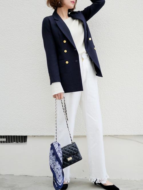 おしゃれ女子のシンプルファッション【2019春夏】8