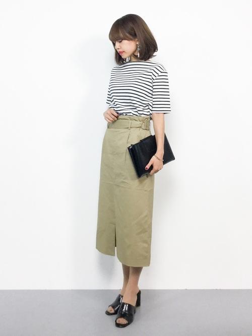 [URBAN RESEARCH] ウエストベルトタイトスカート