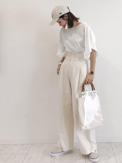 おしゃれ女子のシンプルファッション【2019春夏】5