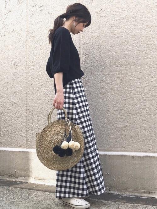 おしゃれ女子のシンプルファッション【2019春夏】4