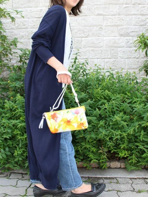2way花柄ハンドバッグ