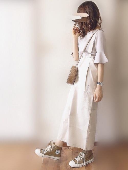 シンプルファッション【スカートスタイル】3