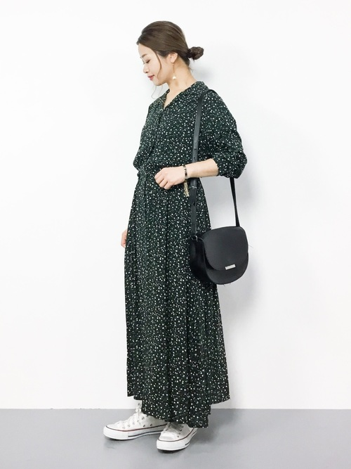 [LOWRYS FARM] カイキンシャツワンピ 807438