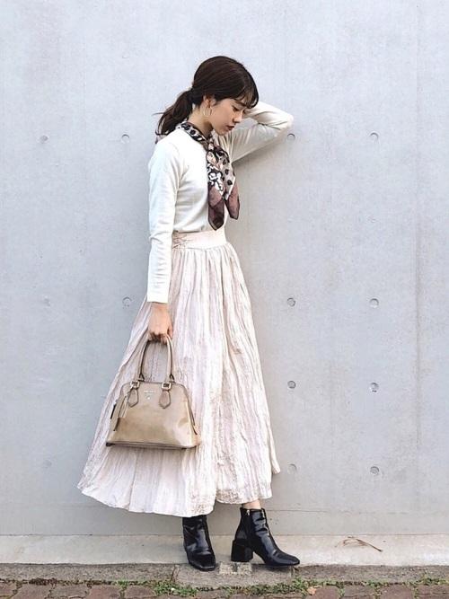 シンプルファッション【スカートスタイル】2