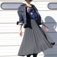 春の羽織りに♪《ユニクロ》のデニムジャケットを使って大人女子コーデを作ろう!