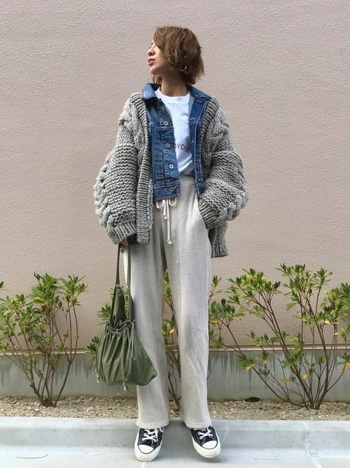 [TODAYFUL] カフストラップデニムジャケット