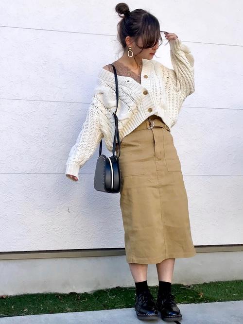 [しまむら] 【2PINK×しまむら】カラーナロースカート