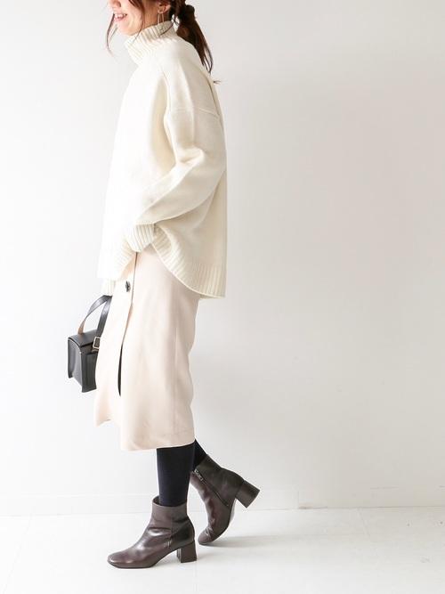 [Spick & Span] BUTTONスカート3◆