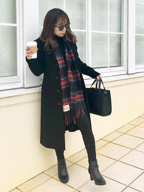[Traditional Weatherwear] カシミヤウール マフラー