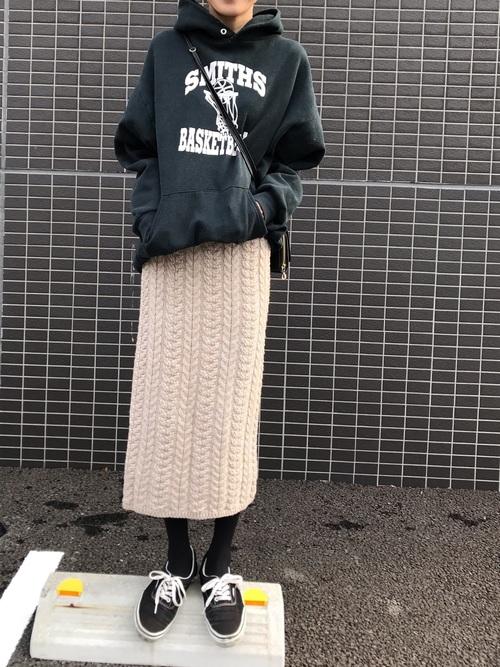 GUのニットスカート2
