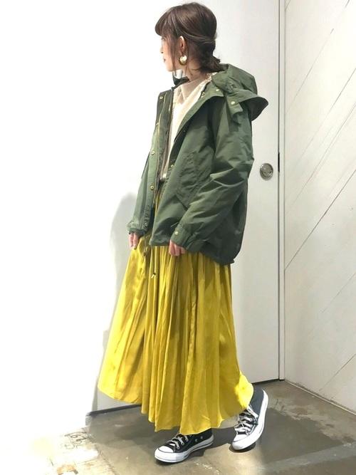 ソフトプリーツスカート2