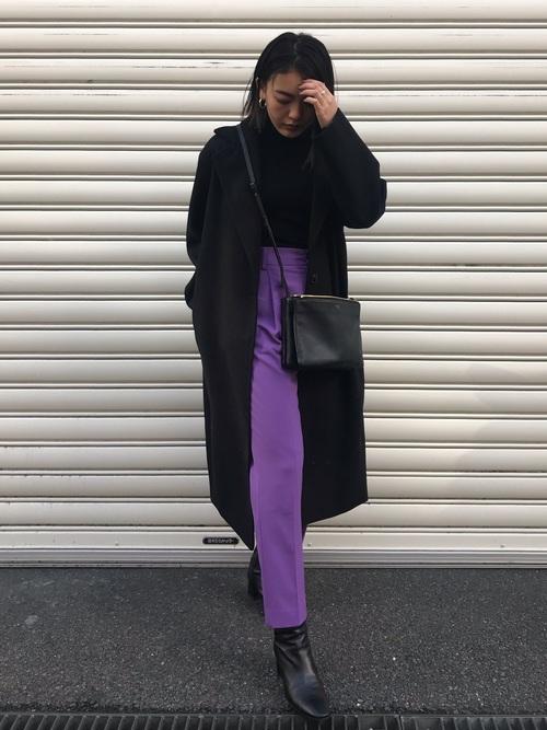 紫に合う色コーデ4