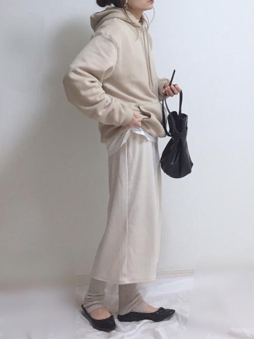 GU スウェットスカート