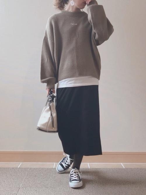 30・40代の着こなし スカート3