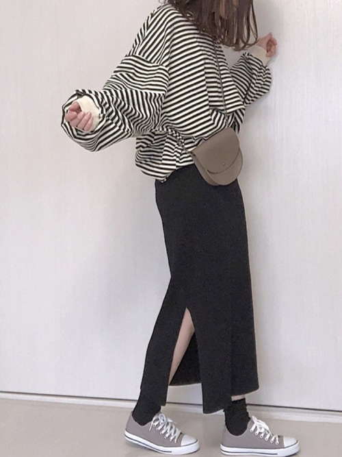 30・40代の着こなし スカート2