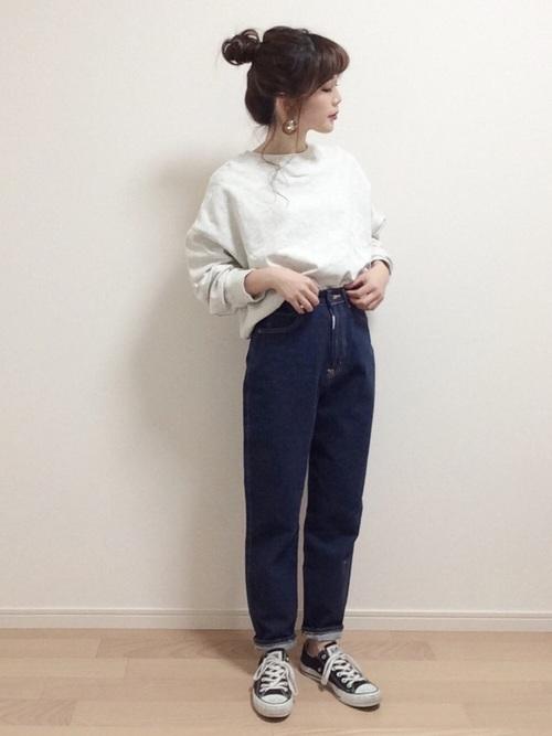 30・40代の着こなし パンツ3