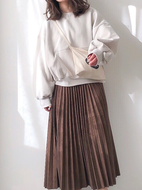 30・40代の着こなし スカート5
