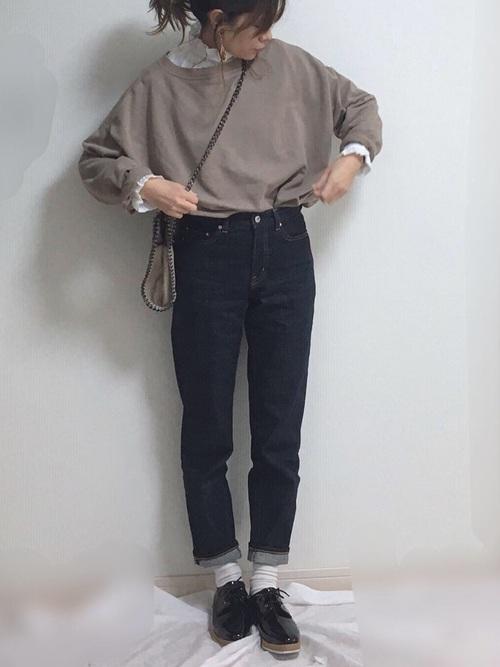 30・40代の着こなし パンツ4