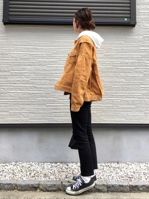 ユニクロ 黒スキニー5