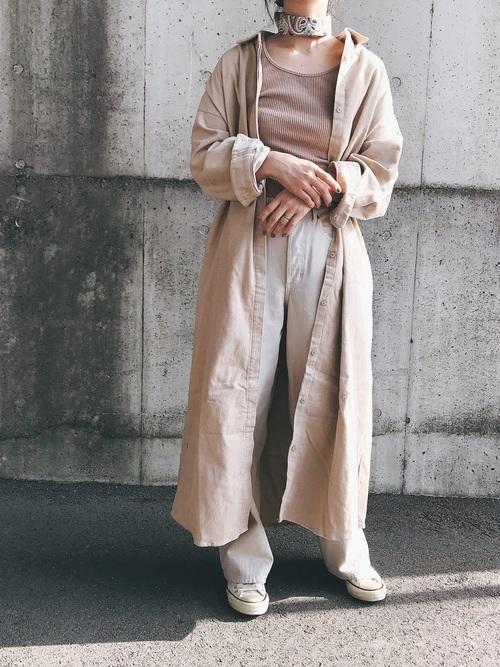 【軽やか素材】で作るカジュアルシンプルファッション
