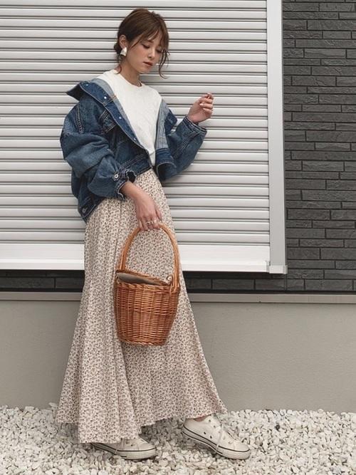 【デニム素材】で作るカジュアルシンプルファッション