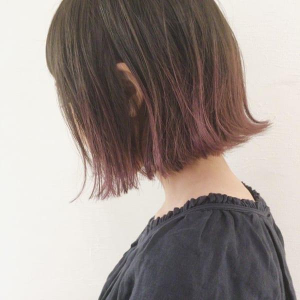 【2019】流行のピンク系ヘアカラー12