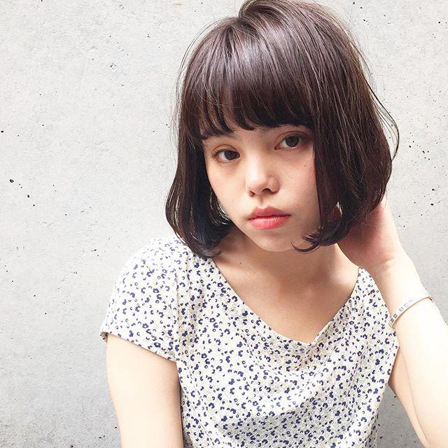 似合う髪型がわからない方におすすめのスタイル【丸顔編】3