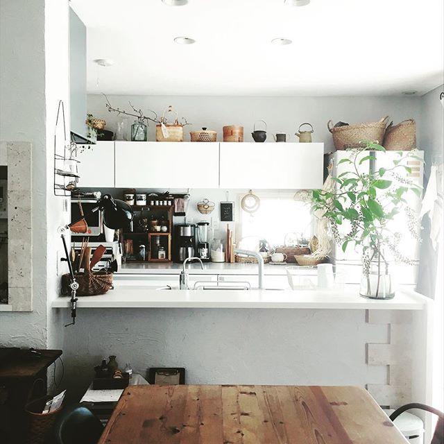 対面式キッチン6