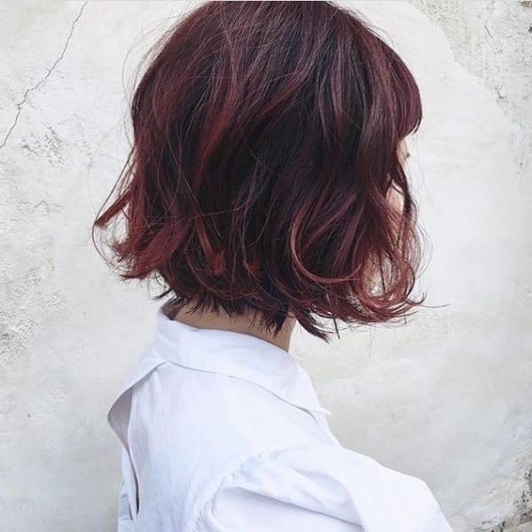 【2019】流行のピンク系ヘアカラー11