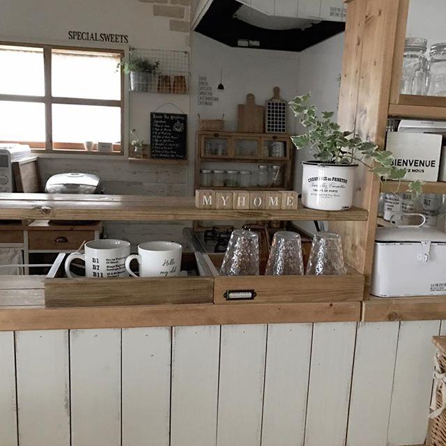 キッチンカウンターインテリア13