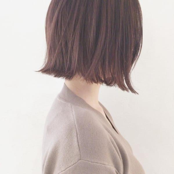 【2019】流行のピンク系ヘアカラー28