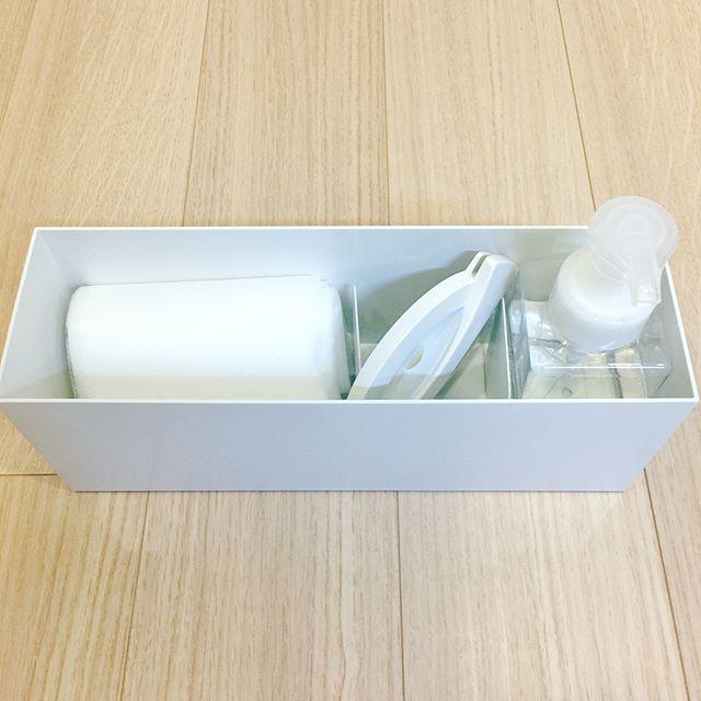 キッチン洗剤&スポンジの収納