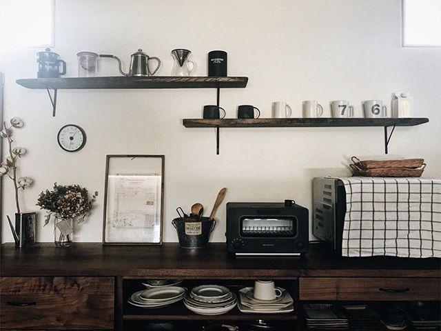 キッチン用品で見せるおしゃれなインテリア5