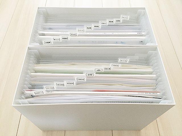 書類・紙モノ収納アイディア12